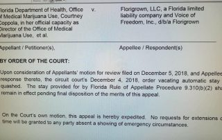 Florigrown v. State of Florida